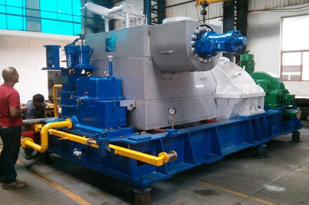 Steam turbines manufacturer industrial steam turbines condensing