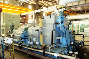 Extraction Condensing Turbine